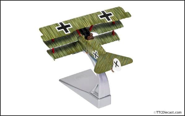 CORGI AA38310 Fokker DR.1 Triplane, Wolfram Freiherr von Richthofen, 21st April 1918